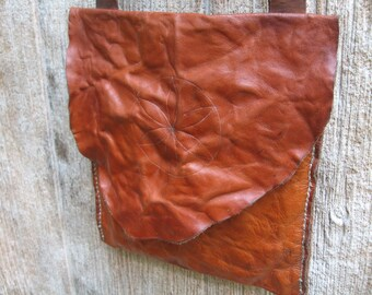 21141ecc344 Classic Southern Square Bag. Leather Shot Pouch. Hunting pouch.