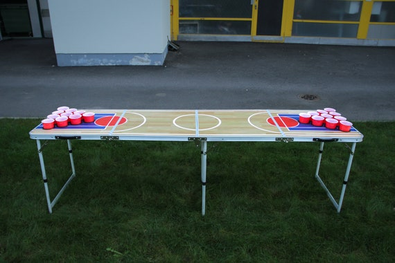 Bier pong tafel basketbal rijggat etsy
