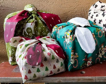 Cubed Gift Bag Digital Sewing Pattern