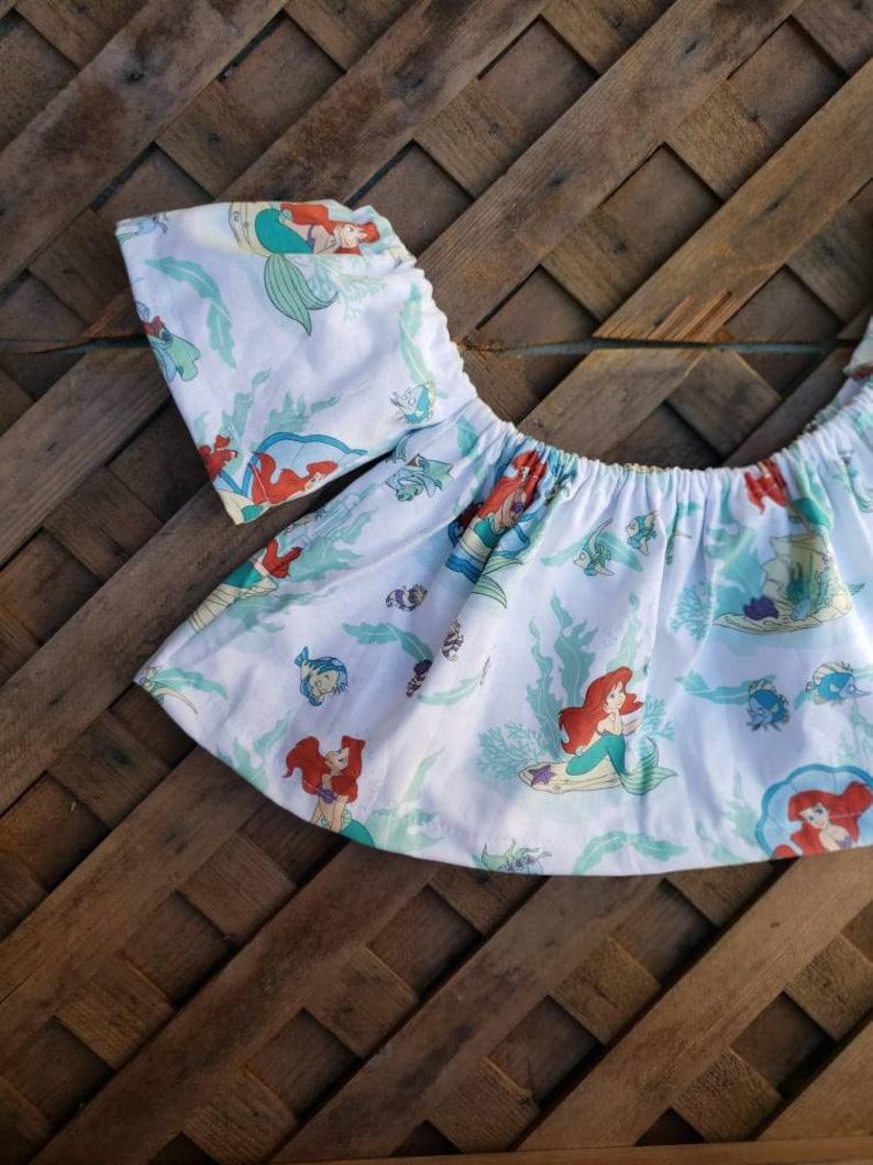 Girl/'s The little mermaid Ariel Crop top