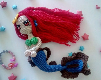 Blue Mermaid articulated wrist