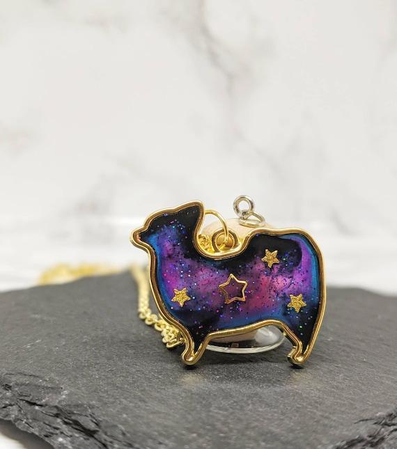 Stunning Lovely Cute Corgi Dog Necklace In Organza Gift Bag