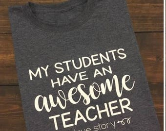 My students have an awesome teacher, true story