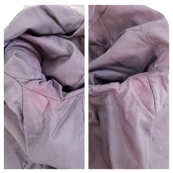 80s N'est-ce Pas grey woven wool tweed blazer jac… - image 10