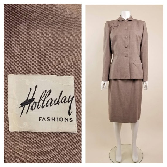 40s CLASSY Holladay Fashions Stix, Baer and Fuller