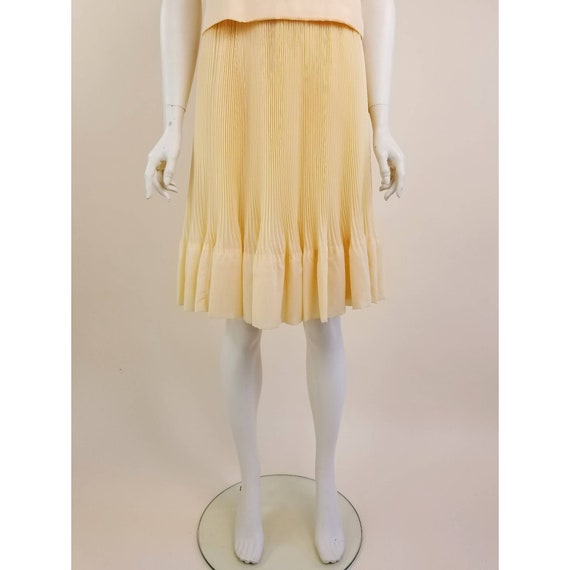 50s MORLOVE The Couturier Blouse peachy/light ora… - image 7