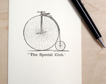 """Blank Card """"The Special Club"""" Bicycle"""