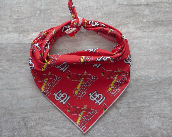St. Louis Cardinals Bandana, MLB Dog Bandana