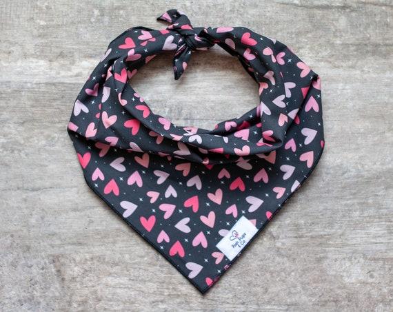 Apollo Bandana, Valentine's Day Dog Bandana