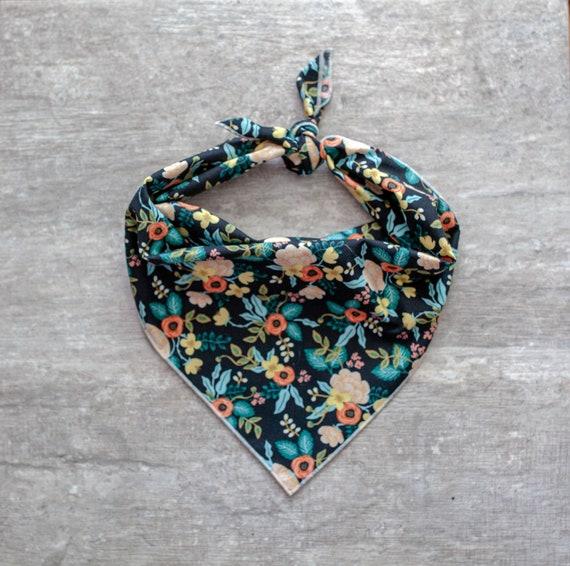 Cascade Bandana, Floral Dog Bandana