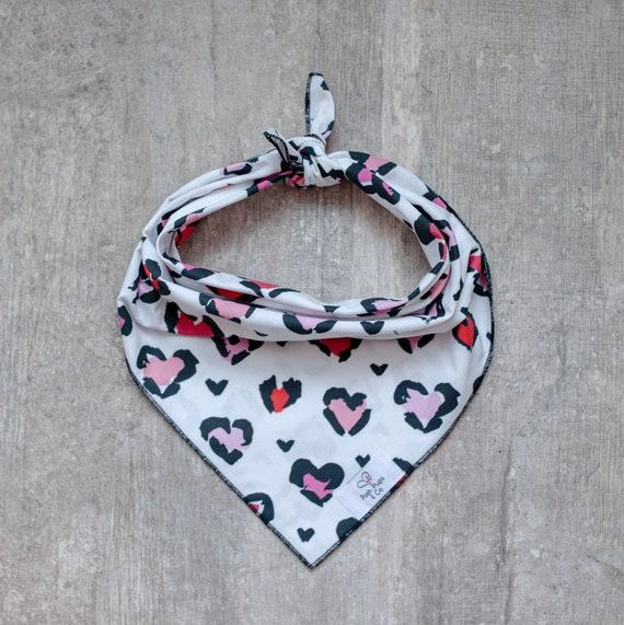 Everly Bandana, Valentine's Day Dog Bandana