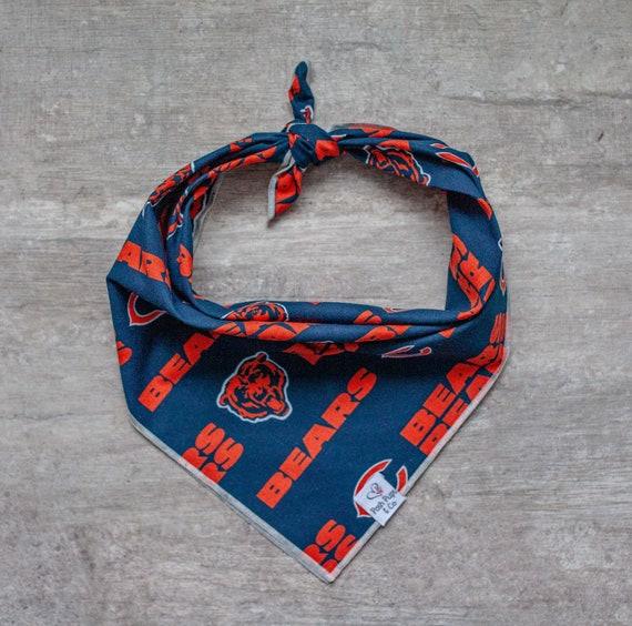 Chicago Bears Dog Bandana, NFL Dog Bandana