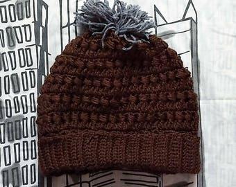 Crochet bonnet slouch | Fait sur commande | Couleurs personnalisées