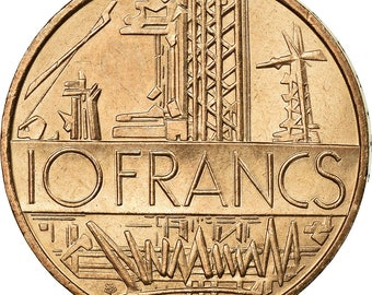French Guiana 5 francs 1939 UNC Reproduction