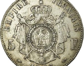 1856 napoleon coin | Etsy