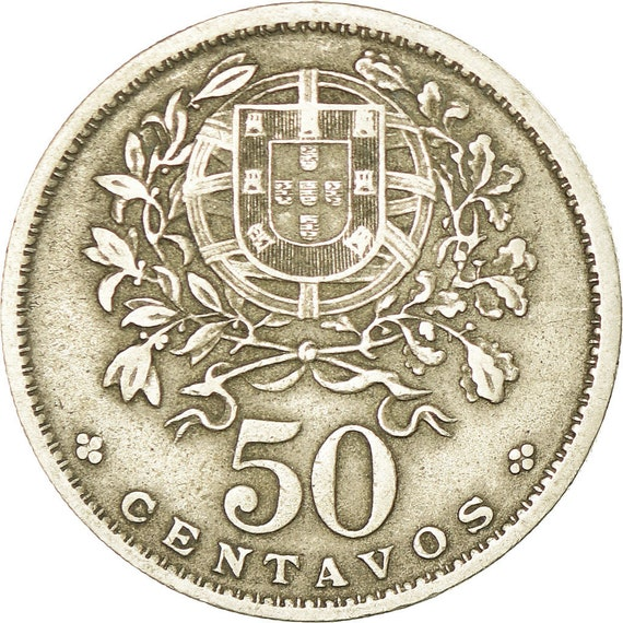 1964 PORTUGAL 50 CENTAVOS VG   NICE COIN !