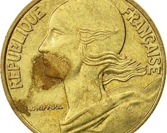 france marianne 5 centimes 1994 paris ef(40-45) aluminum-bronze km933