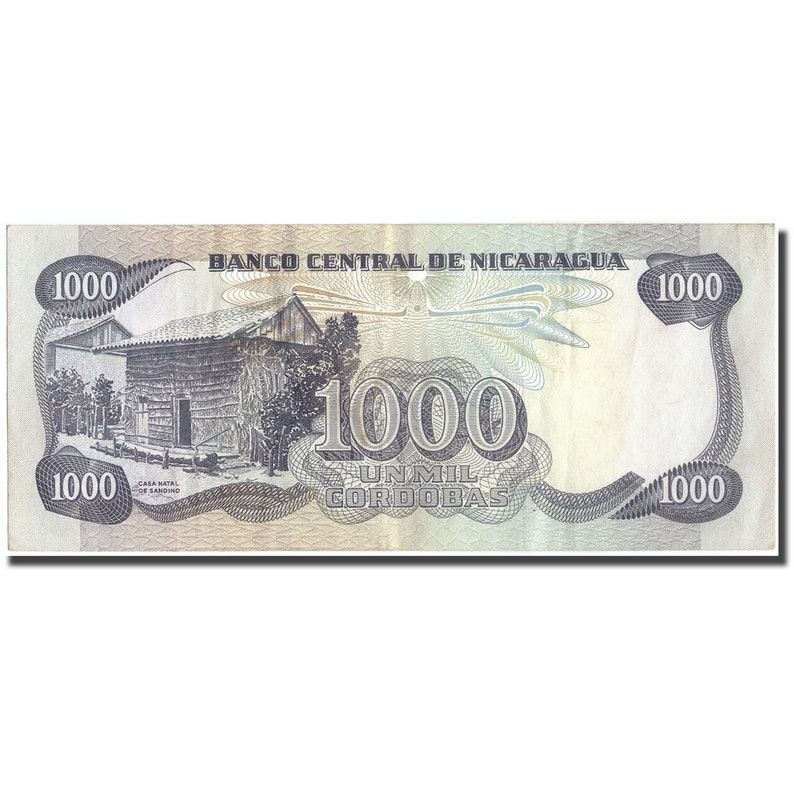 MOST UNC SOME EF-AU. NICARAGUA BANKNOTE LOT OF 15 DIFFERENT NOTES