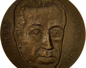 france medal henri duvernois 1977 hélène guastalla ms(63) bronze