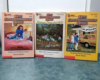 The Baby-Sitters Club Books By Ann M. Martin 1988 1989