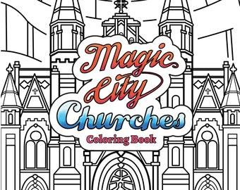 Magic City Churches Coloring Book - Birmingham Alabama