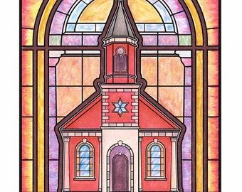 St Elias Maronite Catholic Church Fine Art Print