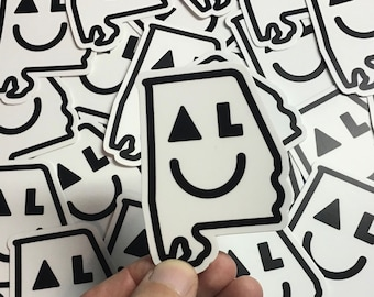 Smiley AL sticker - Alabama