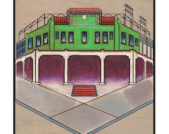 Rickwood Field - Birmingham AL - fine art print