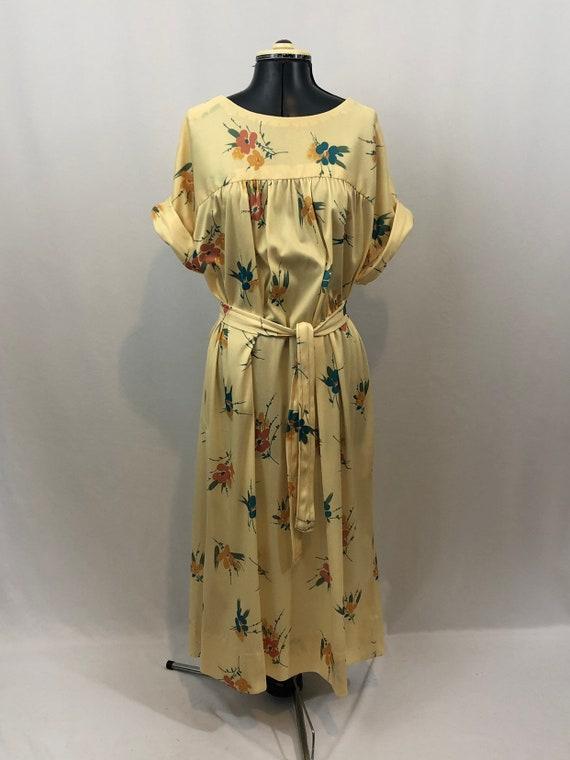 Women's 1970's shift dress