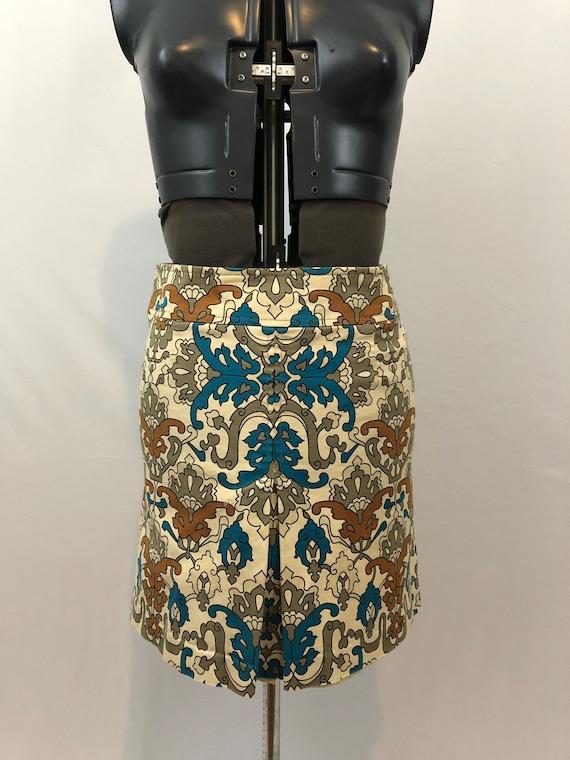 Women's 1960's mini skirt