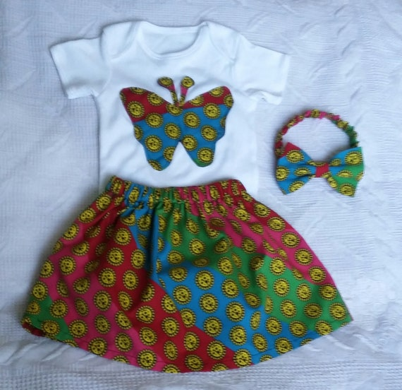 550597a424f2 African Baby Dress Baby Girl Ankara Bodysuits Ankara