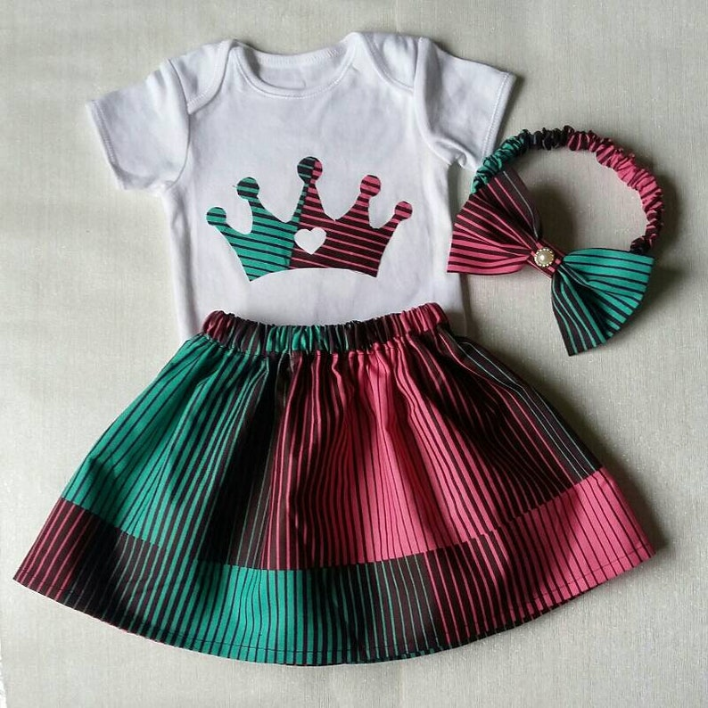 7d08cae6a2602 African Baby Birthday Dress African Print Baby Clothes | Etsy