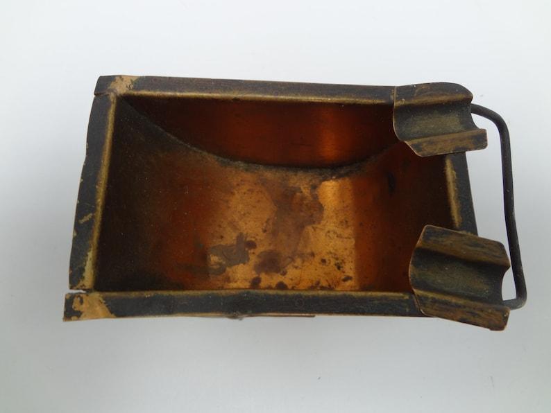 Vintage Copper Wheelbarrow Ashtray