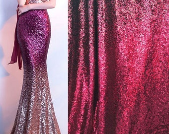 a0f9c087dc3 Bling paillette Lace Fabric Sequined Mesh Fabric Gauze for Mermaid Evening Gown  Galaxy Dress 51 inches Width Sold by 1 yard
