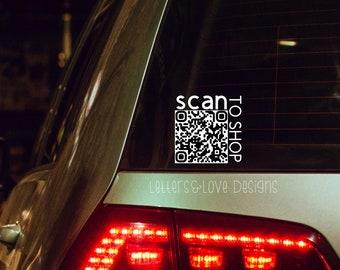 American Flag QR Register to Vote Vinyl Decal Bumper Sticker Wall Laptop Window Sticker 5