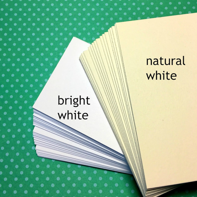 4x6 thick bright white or natural white DIY post cards for stamping drawing writing invitations save the dates craft supplies 25 Postcards