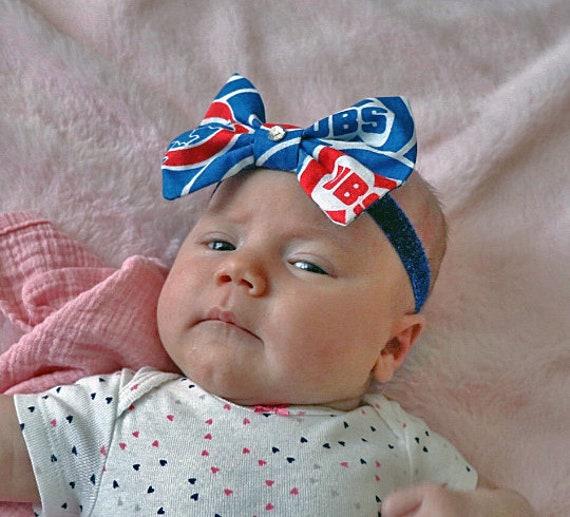 Chicago Cubs Baby Headband  c86e0ce0b4b
