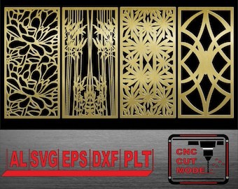 Decor wall panels interior partitions vector templates wall etsy decor wall panels interior partitions vector templates wall panels cutting laser cutting dxf plasma cutting cnc router cuthome design maxwellsz