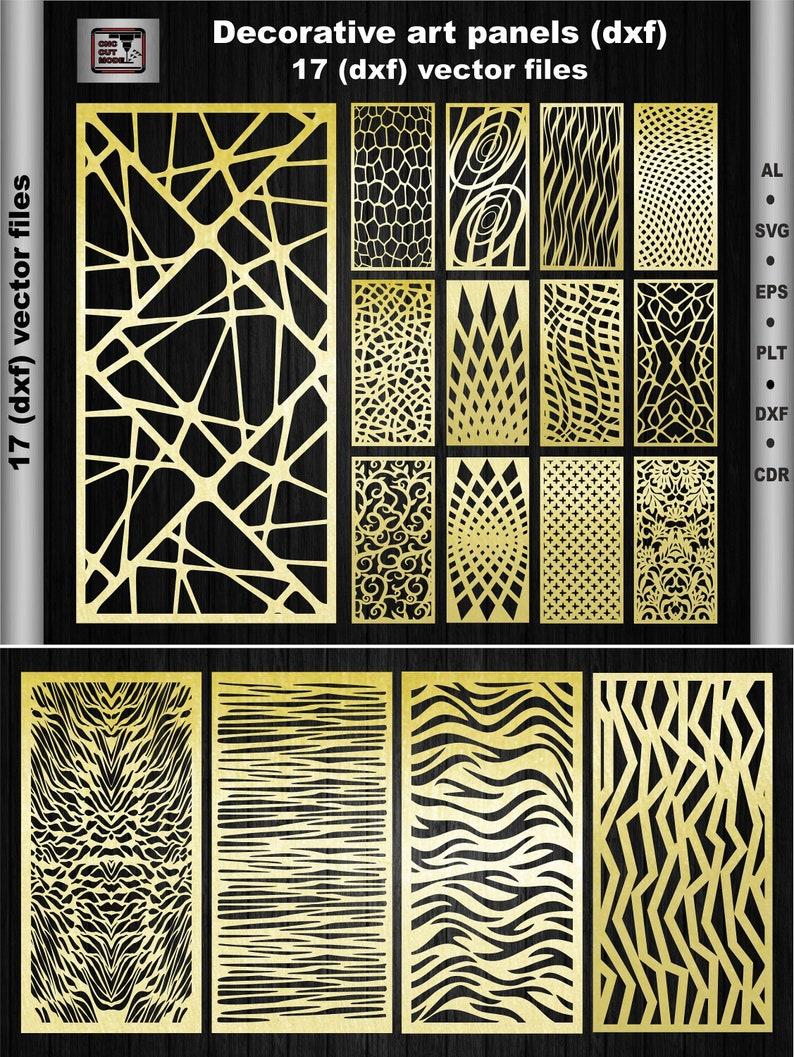 Ornamental Art Panels Decorative Panels Interior Etsy
