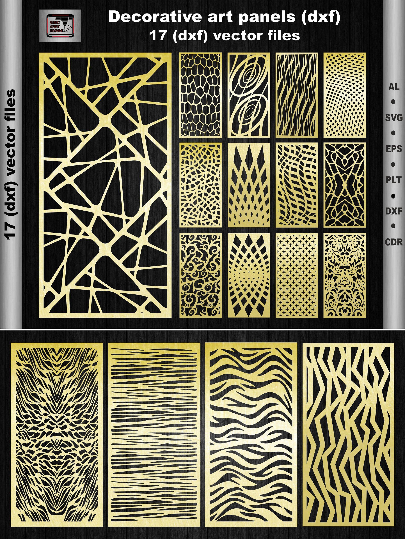 Ornamental Art panels Decorative Panels Interior