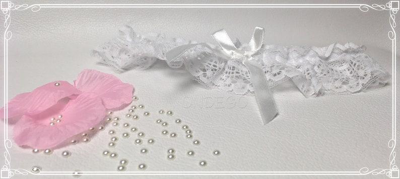 Garter White lace Wedding Bride
