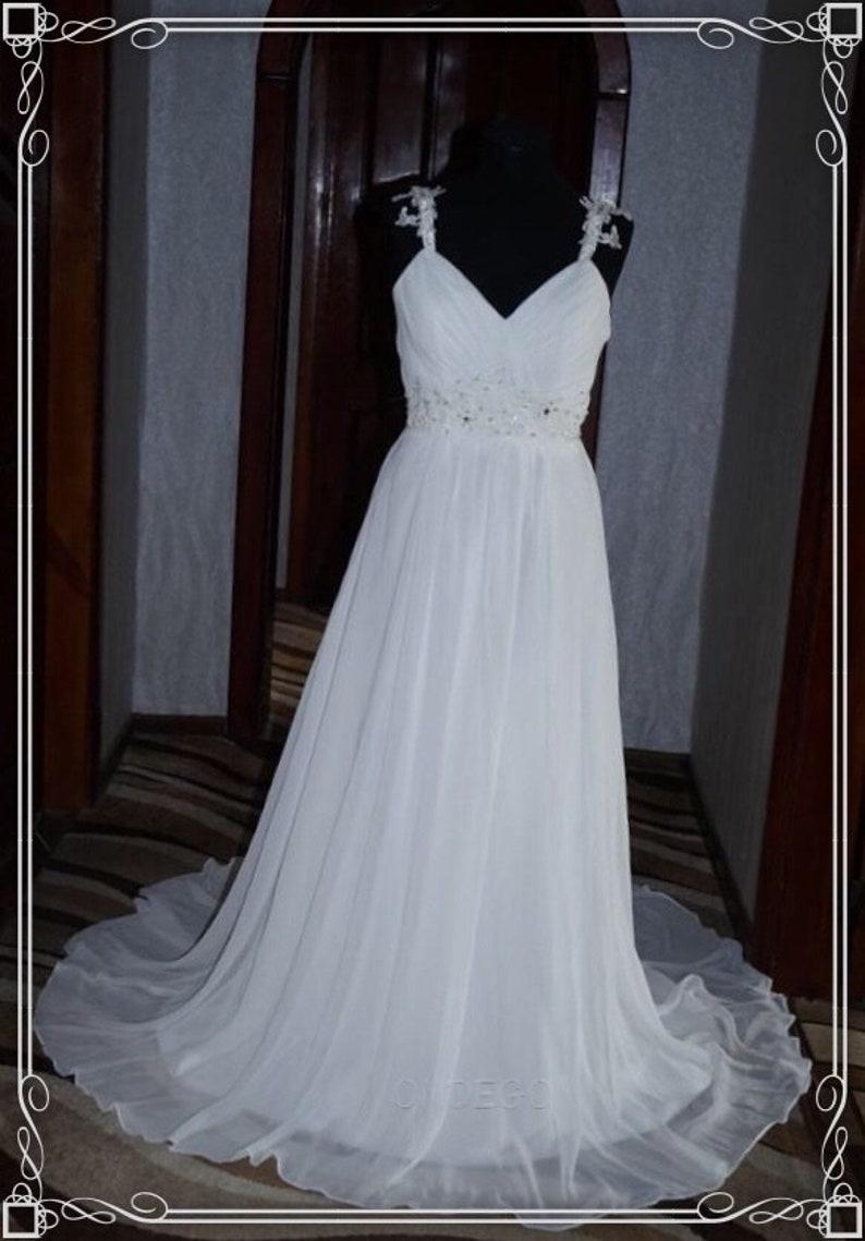 VINTAGE Boho Ivory ivory wedding dress wedding dress tug dress lace rhinestone circumstance dress 34 36 38 40 42 42 48 50 52 54 56 58