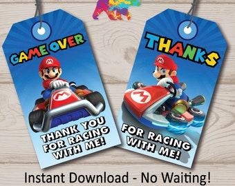 cf3a5d727dd Mario Kart Favor Tags