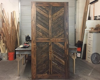 4 panel Sliding Barn Door