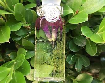REAL FLOWER Amulet/Fairy Bottle