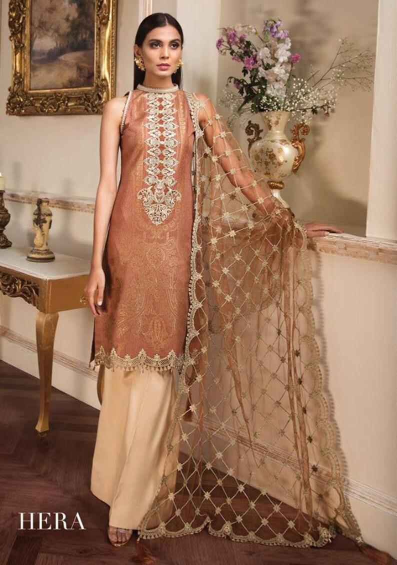 c8ff586833 Original Anaya Luxury Lawn 2019 Pakistani Designer Indian | Etsy