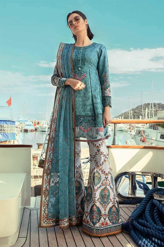 b57f67dda8 Ready to Ship Original Maria B Lawn 2019 Pakistani Designer | Etsy