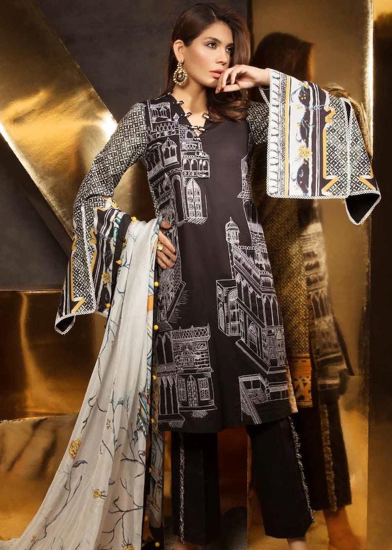 eae06a87d Z.S. Mahgul Eid Lawn 2018 Original Pakistani Designer Suit