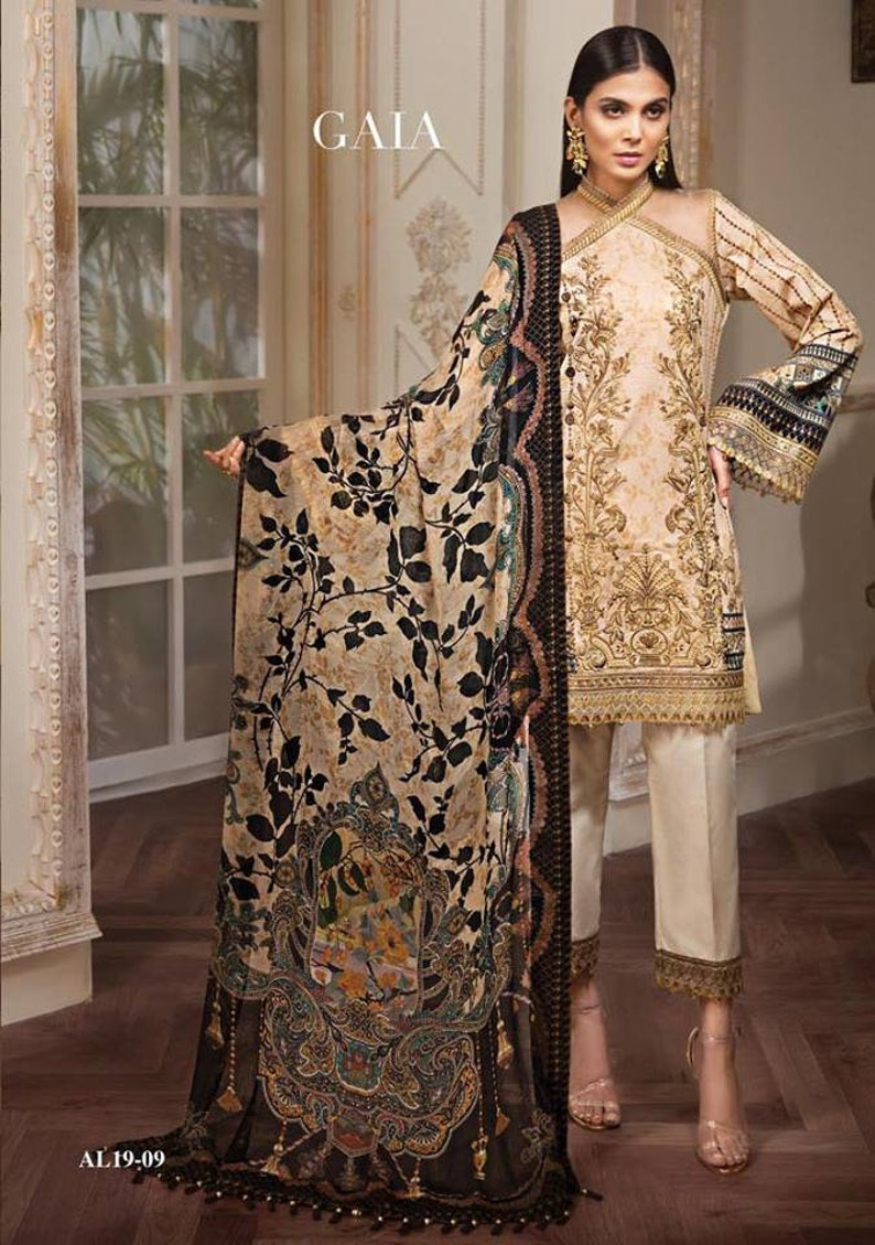 c8ff586833 Original Anaya Luxury Lawn 2019 Pakistani Designer Indian | Etsy