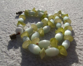 Vintage beaded mother of pearl
